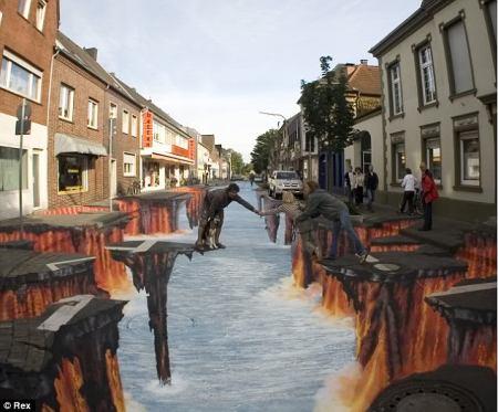 street artist...keren