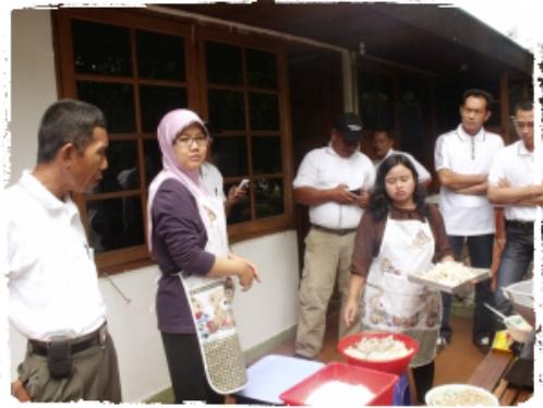 pusat-pelatihan-kuliner-jamur-rumajamur-ganesha-mycosoft-kerjasama-dengan-dinas-pertanian-riau