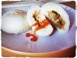 bakpau jamur makanan camilan khas bandung produksi rumajamur