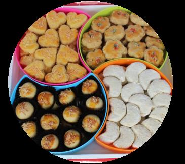 kue kering jamur produksi rumajamur