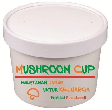 mushroom cup produksi rumajamur 1